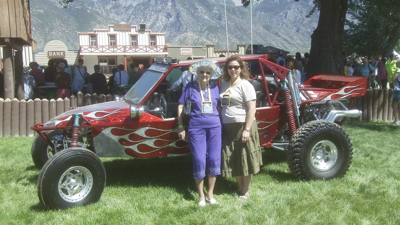 Me and Helen by the NingXia Nitro vehicle